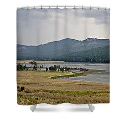 Lost Trail Wildlife Refuge 2 Shower Curtain