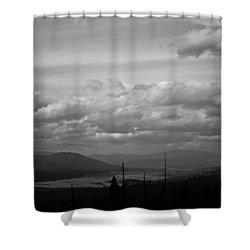 Lost Trail Wildlife Refuge Shower Curtain