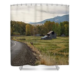 Lostine Valley Shower Curtain