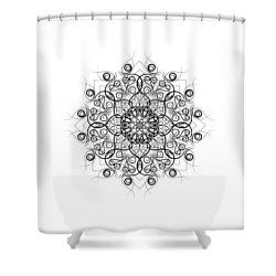 Lotus #1 Shower Curtain