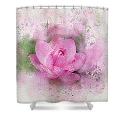 Lotus 7 Shower Curtain