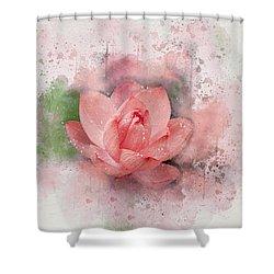 Lotus 8 Shower Curtain