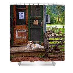 Loudoun Times Shower Curtain by Skip Hunt