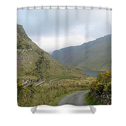 Lough Anascaul Shower Curtain