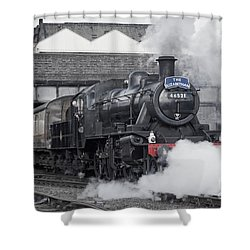 Loughborough Departure Shower Curtain