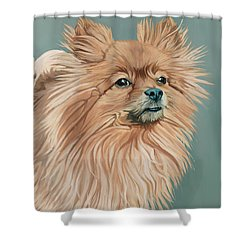 Louie The Majestic Shower Curtain