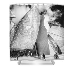 Louis Vuitton Paris II Shower Curtain
