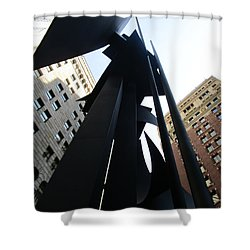 Louise Nevelson Plaza 1 Shower Curtain