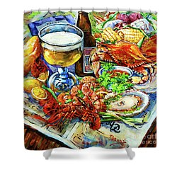 Louisiana 4 Seasons Shower Curtain by Dianne Parks