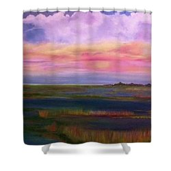 Louisiana Clouds Shower Curtain