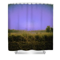 Louisiana Pastoria Shower Curtain