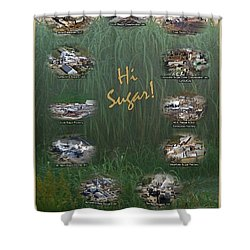 Louisiana Sugar Cane Poster 2008-2009 Shower Curtain