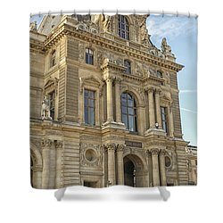 Louvre In Paris Shower Curtain