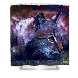 Lovable Feline Shower Curtain