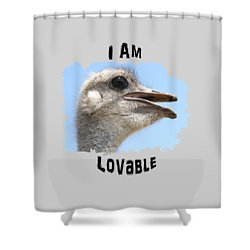 Lovable Shower Curtain