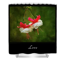 Shower Curtain featuring the photograph Love 1 by Mary Jo Allen