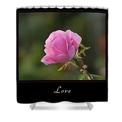 Shower Curtain featuring the photograph Love 2 by Mary Jo Allen
