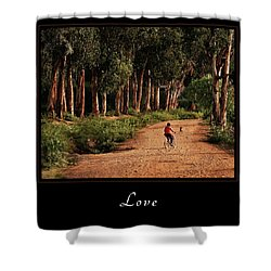 Shower Curtain featuring the photograph Love 3 by Mary Jo Allen