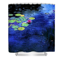 Love A Rainy Day Shower Curtain by John Poon