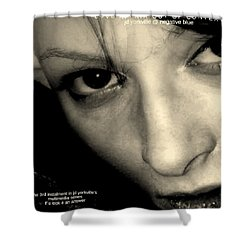 Love Affair Out Of Context A Bogus Album Cover Shower Curtain
