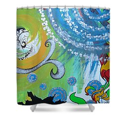 Love Alone Shower Curtain