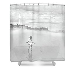 Love And Imagination Shower Curtain
