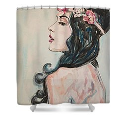 Love And Treat Ya Right Shower Curtain