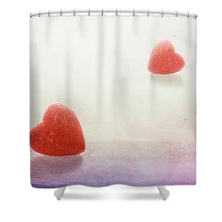 Shower Curtain featuring the photograph Love At First Sight by Tom Mc Nemar