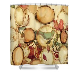 Love Bird Chimes Shower Curtain