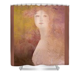 Shower Curtain featuring the digital art Love Calls by Jeff Burgess