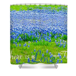 Shower Curtain featuring the photograph Love by David Norman