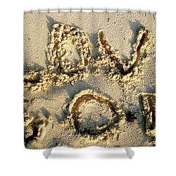 Love God Shower Curtain