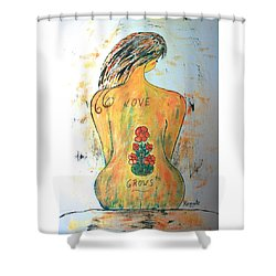 Love Grows.... Shower Curtain