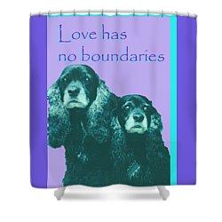 Love Had No Boundaries Shower Curtain