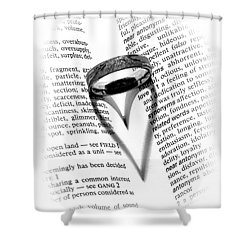 Love Handles Shower Curtain