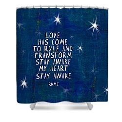 Love Has Come Shower Curtain