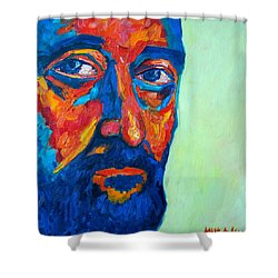 Love Him So Much Shower Curtain by Ana Maria Edulescu