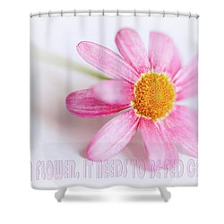 Shower Curtain featuring the photograph Love Is A Flower by Nick Biemans