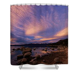 Love Is A Rocky Road Shower Curtain