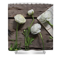 Shower Curtain featuring the photograph Love Is Everlasting by Kim Hojnacki