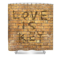 Shower Curtain featuring the photograph Love Is Key by Colleen Williams