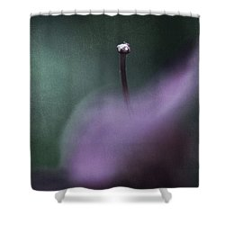 Love Is Sweet Misery Shower Curtain by Laurie Search