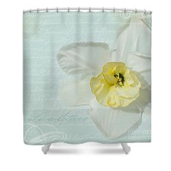Love Letters From A Spring Romance Shower Curtain