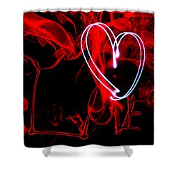 Love Light Shower Curtain