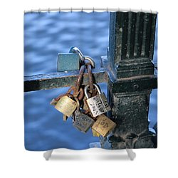 Love Lock Shower Curtain