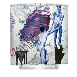 Love Metaphor - Drift Shower Curtain