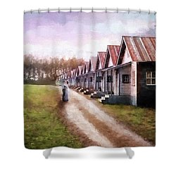 Love Never Fails - Hope Valley Art Shower Curtain