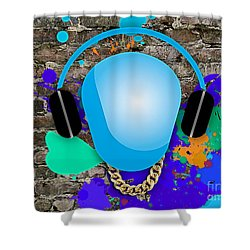 Love Of Music Shower Curtain by Marvin Blaine