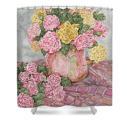 Love Of Roses Shower Curtain