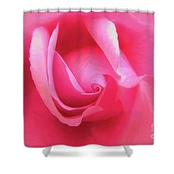 Love Pink Shower Curtain